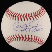 """Cal Ripken Jr. Signed OML Baseball Inscribed """"HOF 2007"""" (JSA COA) at PristineAuction.com"""