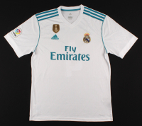 Sergio Ramos Signed Real Madrid 2018 FIFA World Champions Jersey (Beckett COA) at PristineAuction.com