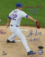 "Steven Matz Signed Mets 8x10 Photo Inscribed ""Go Mets"" (MAB Hologram) at PristineAuction.com"