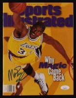 Magic Johnson Signed 1996 Sports Illustrated Magazine (JSA COA) at PristineAuction.com
