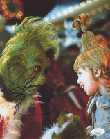 """Jim Carrey Signed """"How the Grinch Stole Christmas"""" 8x10 Photo (JSA COA) at PristineAuction.com"""