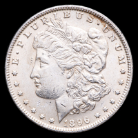 1896 Morgan Silver Dollar at PristineAuction.com
