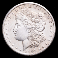 1897-S  Morgan Silver Dollar at PristineAuction.com