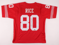 Jerry Rice Signed Jersey (TriStar Hologram) at PristineAuction.com