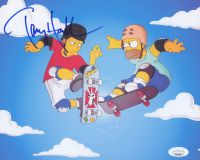 "Tony Hawk Signed ""The Simpsons"" 8x10 Photo (JSA COA) at PristineAuction.com"