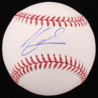 Ronald Acuna Jr. Signed OML Baseball (PSA COA) at PristineAuction.com