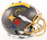 Minkah Fitzpatrick Signed Steelers Full-Size Authentic On-Field F7 Hydro-Dipped Helmet (Beckett COA) at PristineAuction.com