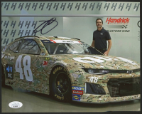 Jimmie Johnson Signed 8x10 Photo (JSA COA) at PristineAuction.com