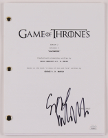 """Sibel Kekilli Signed """"Game of Thrones: Blackwater"""" Episode Script (JSA COA) at PristineAuction.com"""