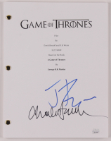 "Jerome Flynn & Charles Dance Signed ""Game of Thrones"" Episode Script (JSA COA) at PristineAuction.com"