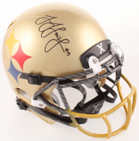 JuJu Smith-Schuster Signed Steelers Youth Full-Size Helmet (TSE Hologram) at PristineAuction.com