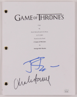 "Jerome Flynn & Charles Dance Signed ""Game of Thrones"" Pilot Episode Script (JSA COA) at PristineAuction.com"