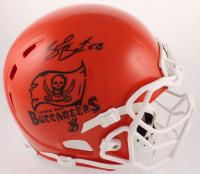 Shaquil Barrett Signed Buccaneers Full-Size Helmet (JSA COA) at PristineAuction.com