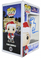 """Chevy Chase Signed """"National Lampoon's Christmas Vacation"""" #242 Clark Griswold Funko Pop! Vinyl Figure (Beckett COA & Chase Hologram) at PristineAuction.com"""