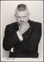 "Chuck ""Iceman"" Liddell Signed ""The Ultimate Champion"" 22x31.5 LE UFC Fine Art Giclee by Iconic Sports Photographer Eric Williams (PA LOA & JSA COA) at PristineAuction.com"