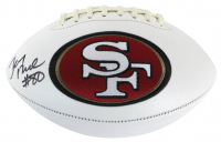 Jerry Rice Signed 49ers Logo Football (Beckett COA) at PristineAuction.com