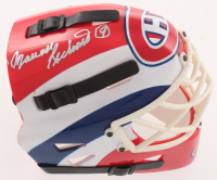 Maurice Richard Signed Canadiens Mini Goalie Mask (PSA COA) at PristineAuction.com