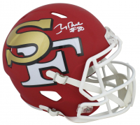 Jerry Rice Signed 49ers AMP Alternate Speed Full Size Helmet (Beckett COA) at PristineAuction.com