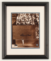Willie Mays Signed Giants 13x16 Custom Framed Photo Display (Mays Hologram & Steiner COA) at PristineAuction.com