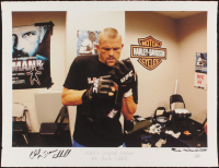"""Chuck """"Iceman"""" Liddell Signed """"MMA's Original Outlaw"""" 17x22 LE UFC Fine Art Giclee by Iconic Sports Photographer Eric Williams (PA LOA & JSA COA) at PristineAuction.com"""