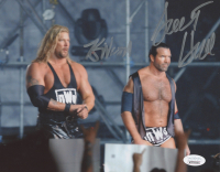 Scott Hall & Kevin Nash Signed WWE 8x10 Photo (JSA COA) at PristineAuction.com