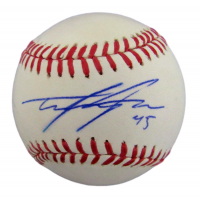 Tyler Skaggs Signed OML Baseball (JSA COA) at PristineAuction.com