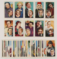 """1938 Ogden's Cigarettes """"Actors Natural & Character Studies"""" Complete Set of (50) with #27 Boris Karloff, #14 W.C. Fields, #40 Laurence Olivier at PristineAuction.com"""