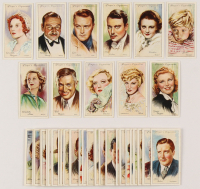 """1934 Player's """"Film Stars Second Series"""" Complete Set of (50) Cigarette Cards with #14 Marion Davies, #47 Mae West, #38 Ginger Rogers, #39 Will Rogers, #13 Jackie Cooper at PristineAuction.com"""