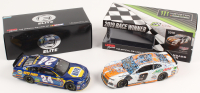 Lot of (2) Chase Elliott LE 1:24 Scale Die Cast Cars with (1) #24 NAPA 2017 SS Elite & (1) Signed #9 MD / Little Casesars Talladega Win 2019 Camaro ZL1 Autographed (JSA COA & RCCA COA) at PristineAuction.com
