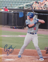 Corey Seager Signed Dodgers 11x14 Photo (PSA COA) at PristineAuction.com