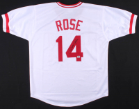 Pete Rose Signed Jersey (Fiterman Hologram) at PristineAuction.com