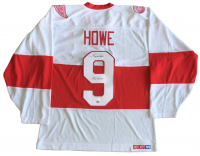 """Gordie Howe Signed Red Wings Jersey Inscribed """"Mr. Hockey"""" (SI COA & JSA COA) at PristineAuction.com"""