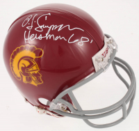 "O.J. Simpson Signed USC Trojans Mini Helmet Inscribed ""Heisman 68"" (JSA COA) at PristineAuction.com"