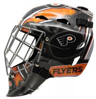 Carter Hart Signed Flyers Full-Size Goalie Mask (JSA COA) at PristineAuction.com