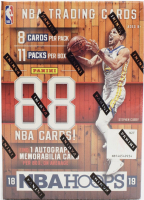 2018-19 Panini Hoops Basketball Unopened Blaster Box of (11) Packs at PristineAuction.com