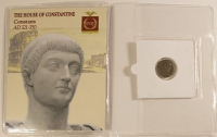 Constans Roman Bronze Coin AD 321-350 at PristineAuction.com