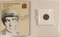 Constantine II Roman Bronze Coin AD 316-340 at PristineAuction.com