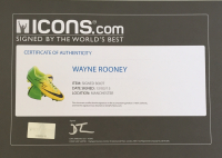 Wayne Rooney Signed Nike Mercurial Cleat (Icons COA & JSA LOA) at PristineAuction.com