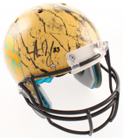 Davante Adams, Aaron Jones & Jamal Williams Signed Packers Full-Size Authentic On-Field Hydro-Dipped Helmet (JSA COA) at PristineAuction.com