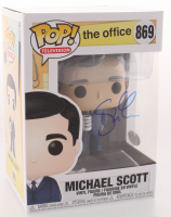 "Steve Carell Signed ""The Office"" #869 Funko Pop Vinyl Figure (PSA Hologram) at PristineAuction.com"
