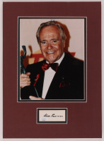 Jack Lemmon Signed 6th Annual Screen Actors Guild Awards 12x16 Custom Matted Cut Display With Photo (JSA COA) at PristineAuction.com