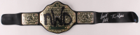 "Kevin Nash & Scott Hall Signed WWE ""NWO"" World Heavyweight Championship Belt (Pro Player Hologram) at PristineAuction.com"