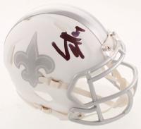 Cameron Jordan & Michael Thomas Signed Saints White ICE Mini Speed Helmet (JSA COA) at PristineAuction.com