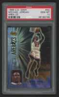 Michael Jordan 1998-99 UD Ionix Area 23 #A5 (PSA 10) at PristineAuction.com