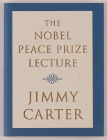 "Jimmy Carter Signed ""Nobel Peace Prize Lecture"" Hardcover Book (JSA COA) at PristineAuction.com"