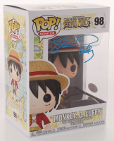"""Colleen Clickenbeard Signed """"One Piece"""" #98 Monkey D. Luffy Funko Pop! Vinyl Figure Inscribed """"Luffy"""" (JSA COA) at PristineAuction.com"""