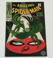 "Stan Lee Signed 1968 ""The Amazing Spider-Man"" Issue #63 Marvel Comic Book (Lee COA) at PristineAuction.com"