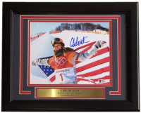 Chloe Kim Signed Team USA 11x14 Custom Framed Photo Display (Beckett COA) at PristineAuction.com