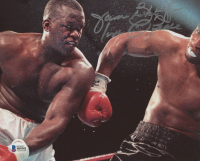 "James ""Buster"" Douglas Signed 8x10 Photo Inscribed ""Love & Peace"" (Beckett COA) at PristineAuction.com"