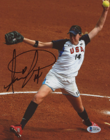 Monica Abbott Signed Team USA 8x10 Photo (Beckett COA) at PristineAuction.com